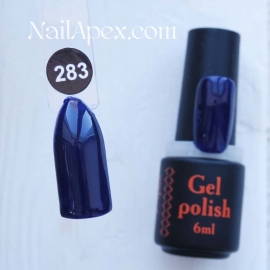 NailApex Gel Polish №283 гель-лак «» (6мл) ч/б