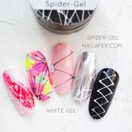 Паутинка гель Nailapex Professional (белый), 5гр.