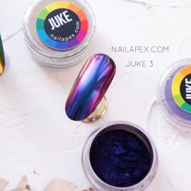 NailApex зеркальная втирка «JUKE» №3