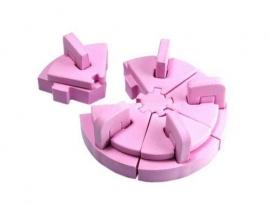 Подиум розовый