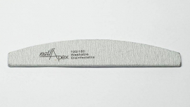 NailApex пилка 100/180 (лодка серая)