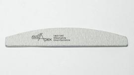 NailApex пилка 180/180 (лодка серая)