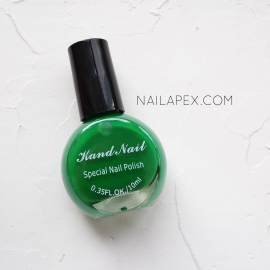 Лак для стемпинга Kand Nail — зеленый (10мл)