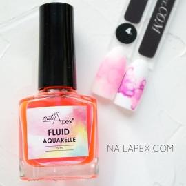 NAILAPEX «Акварельный Флюид» — №4 Розовый AQUARELLE FLUIDE (5ml)