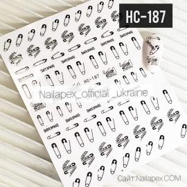 Наклейка (HC-187) Булавка