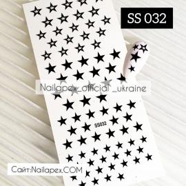 Наклейка (SS032) Звёзды