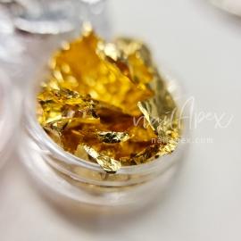 Поталь - сусальное золото Nailapex