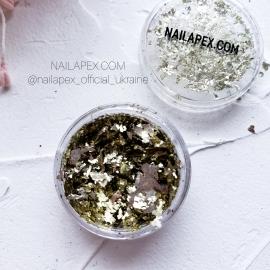 NAILAPEX «Хлопья» №20 — Шампань