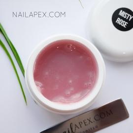 Полигель Nailapex «Misty Rose» — Темно-розовый камуфляж