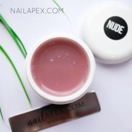 Полигель NailApex «Nude» — Камуфляж светло-бежевый