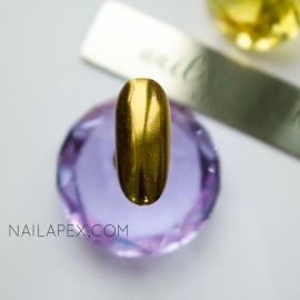 Зеркальная втирка «Chrome» — (№3) Хром золото