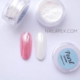 Жемчужная втирка «Pearl Powder» Серебристо жемчужный оттенок (№2)