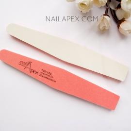 NailApex Баф-пилка 100/180 — оранж