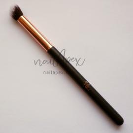 Кисть скошенная для втирки «PS...» (черная с золотым ручка)