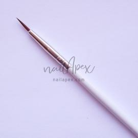 Кисть для растушевки (белая ручка)
