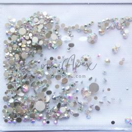 Стразы «Crystal» микс голограммных камней (голограммные камни)