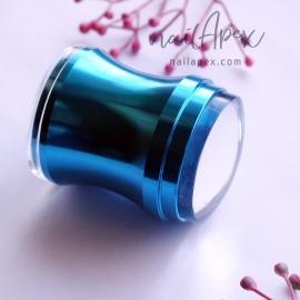 Штамп для стемпинга прозрачный (синий большой)