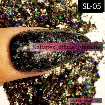 Голограммная слюда Nailapex (SL05)