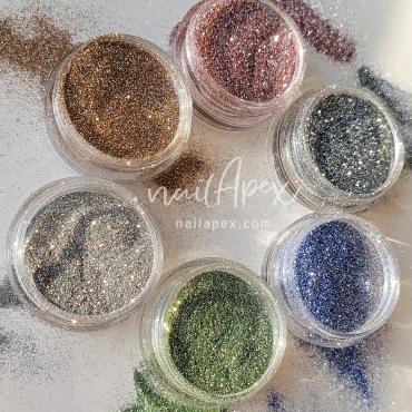 Светоотражающий песок Nailapex №1