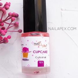 NAILAPEX Масло для кутикулы «CUPCAKE» / Масло для кутикулы с запахом лесных ягод (12г)