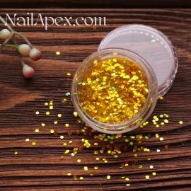 Декор для ногтей - №121 Мелкий пупырышки (хамелеон золотой)