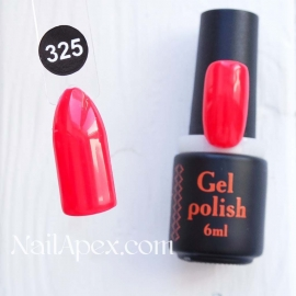 NailApex Gel Polish №325 гель-лак «» (6мл) ч/б