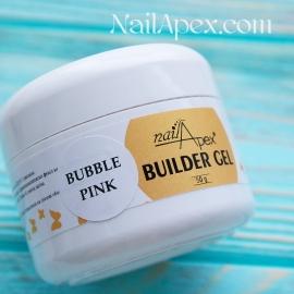 NailApex Моделирующий Крем гель «Bubble Pink» (50g) Builder Gel — гель для ногтей