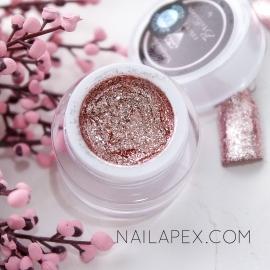 NailApex гель-краска Fantastik «BRILLIANCE» №006 — Розовая Платина