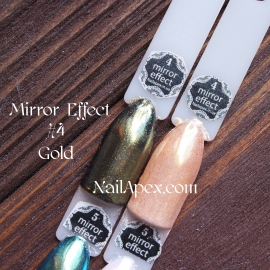 MIRROR effect Gold №4 зеркальный эффект