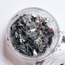 Слюда (№50) Темное серебро