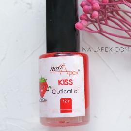 NAILAPEX Масло для кутикулы «NEW-KISS» / Масло для кутикулы с запахом клубники (12г)