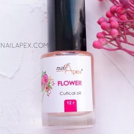 NAILAPEX Масло для кутикулы «FLOWER» / Масло для кутикулы с нежным запахом цветов (12г)