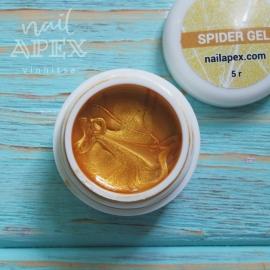 Паутинка гель Nailapex Professional (золото), 5гр.