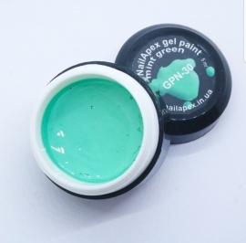 Гель-краска №30 NailApex ч/б 5грм