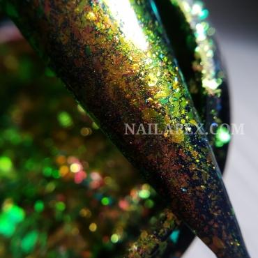 Хлопья Nailapex №32 Gold-Green
